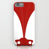 iPhone & iPod Case featuring Silhouette Racers - Lancia Fulvia Coupe by Salmanorguk