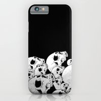 iPhone & iPod Case featuring Skull Pile by Cloz000