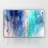 Winter Abstract Acrylic … Laptop & iPad Skin
