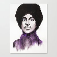 The Prince Canvas Print