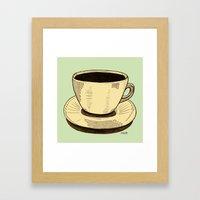 Good Ol' Cup Of Coffee, … Framed Art Print