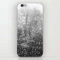Snow in early fall(3) iPhone & iPod Skin