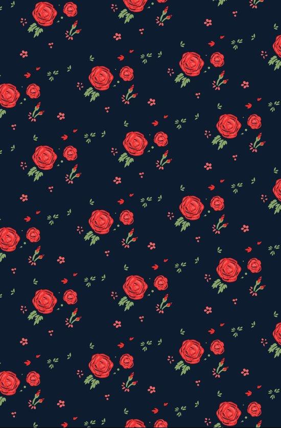 Classic western rose pattern  Art Print