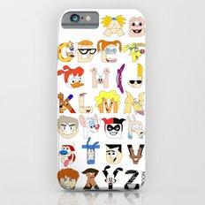 Child of the 90s Alphabet Slim Case iPhone 6s