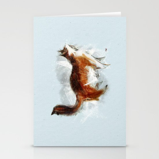 Ode to my Cat Stationery Card