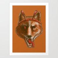 The Spicy Dingo Art Print