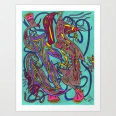The Aleph Art Print