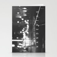 Just Wandering. Stationery Cards