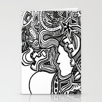 Techno Stationery Cards