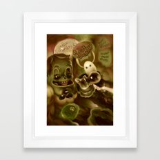 Super Happy Jelly Show Framed Art Print