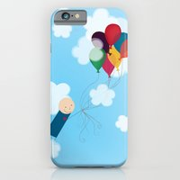 iPhone & iPod Case featuring Balloons by madeline audrey