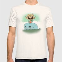 Flapjack Mens Fitted Tee Natural SMALL