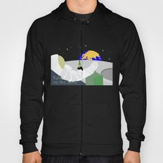 Relax on the moon Hoody