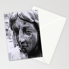 Angelic face Stationery Cards