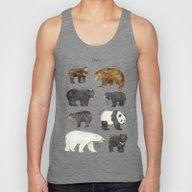 Bears Unisex Tank Top