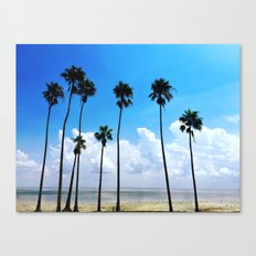 Congregation of Palms Canvas Print