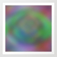 Color Crystals Art Print