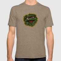 Oscar Mens Fitted Tee Tri-Coffee SMALL
