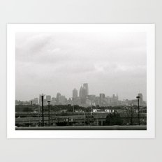 the city sleeps Art Print
