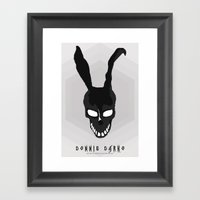 MINIMAL DONNIE DARKO-1 Framed Art Print