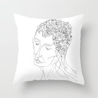 La Citta' Dentro Throw Pillow