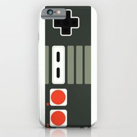 iPhone & iPod Case featuring Simply NES by Adam James