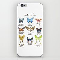 Exotic Moths iPhone & iPod Skin