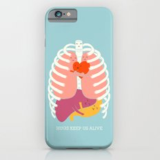 Hug keep us alive iPhone 6 Slim Case