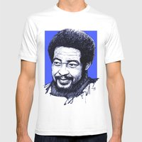 Bill Withers Mens Fitted Tee White SMALL