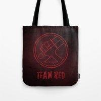 Team Red Tote Bag