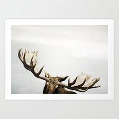fig. 02 | antlers Art Print