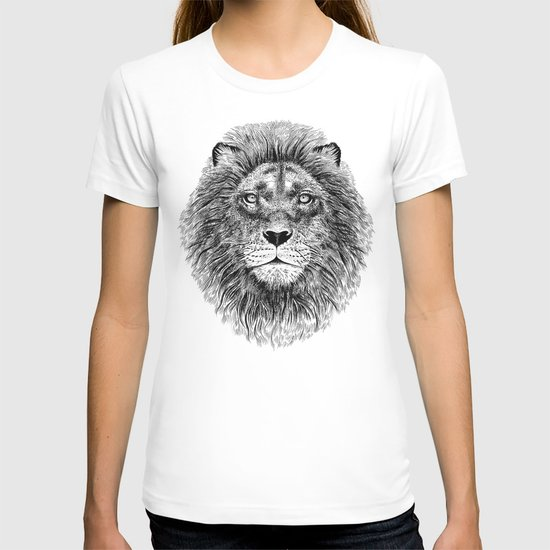 Black+White Lion T-shirt