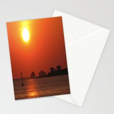 Sunset on Ruins Stationery Cards