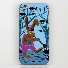 The Clarinet Bunny iPhone & iPod Skin