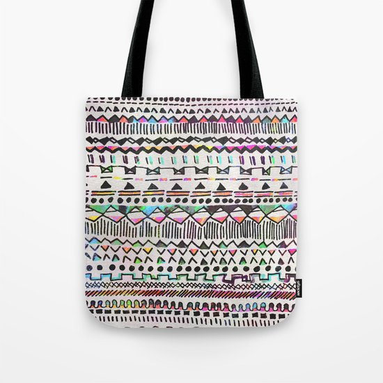 Pattern mix Tote Bag
