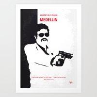 No526 My MEDELLIN Minima… Art Print