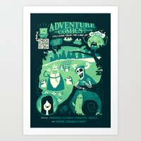 Adventure Comics Art Print