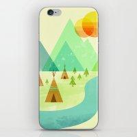 Native Lands iPhone & iPod Skin