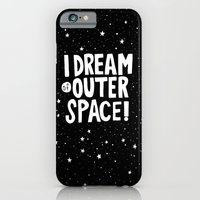 iPhone & iPod Case featuring I Dream of Outer Space by Nick Villalva