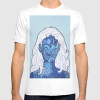 Shaman's Spiral Mens Fitted Tee White SMALL