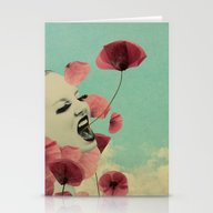 The Silent Storm Stationery Cards