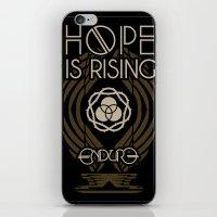 HOPE IS RISING iPhone & iPod Skin