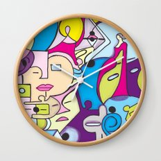 Beach Pop series Wall Clock
