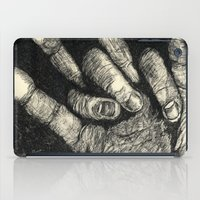 Etched Hand #1 iPad Case