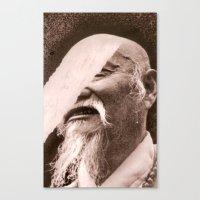 Hommes et Migrations Canvas Print