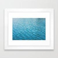 Echo Park Lake Framed Art Print