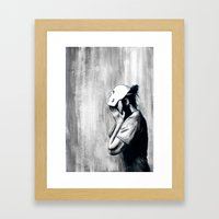 No One Will Know Who You… Framed Art Print