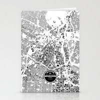 los angeles Stationery Cards featuring LOS ANGELES by Maps Factory