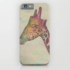 Giraffe in Technicolor iPhone 6s Slim Case