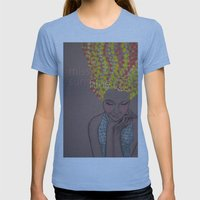 Miss Sunshine Womens Fitted Tee Athletic Blue SMALL